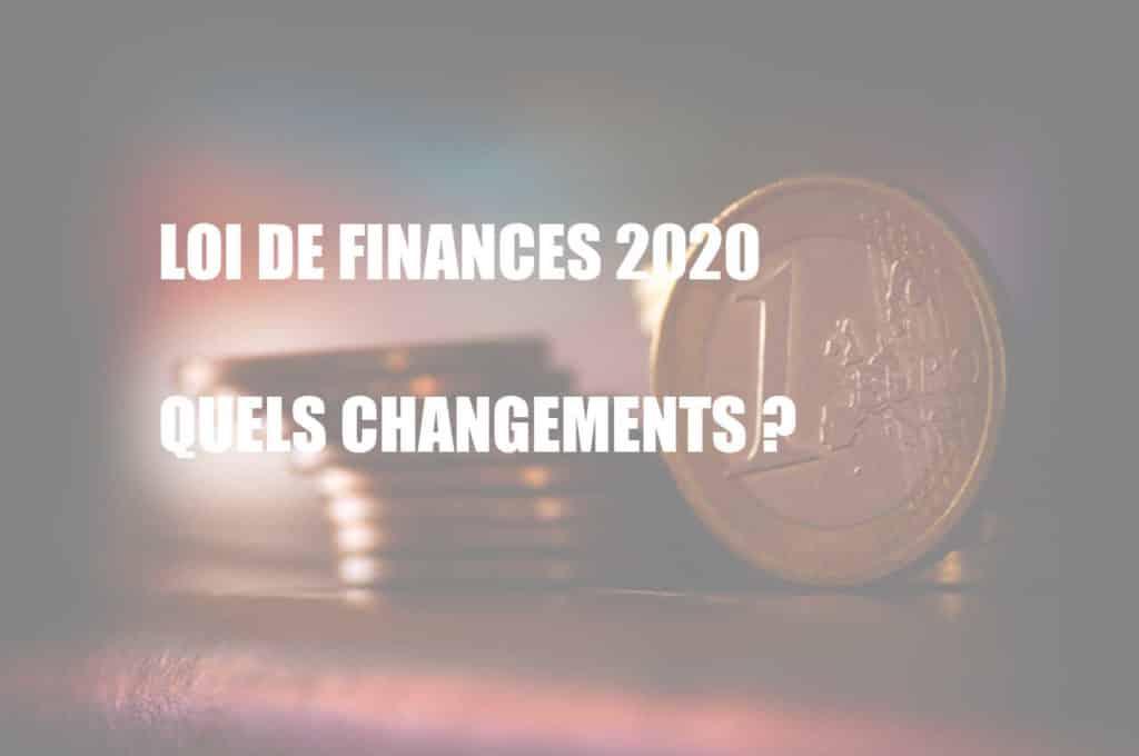 loi finances 2020